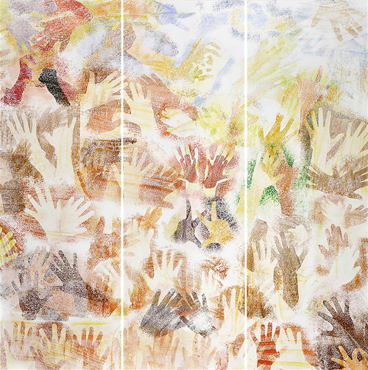 Print Design_Sensitive Hands-Triptychon 06